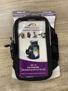 """Armpocket The Ultimate Armband MEGA i-40 Compatible With Devices up to 6.5"""""""