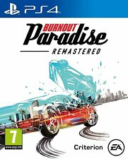 BURNOUT PARADISE - remastered PS4 game - NEW & FACTORY SEALED