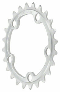 Sugino 32T x 74mm 5 Bolt Inner Chainring Anodized Silver No Ramps or Pins