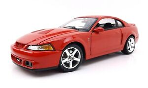 MAISTO 1/18 SPECIAL EDITION RED 2003 FORD SVT MUSTANG COBRA *Read*
