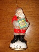 Memories of Santa Collection 1939 Santa and Carrom Board New In Box
