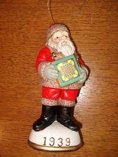 Memories of Santa Collection 1939 Santa and Carrom Board New In Box