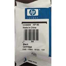 60 HP black ink DeskJet F4580 F4480 F4440 F4435 F4280 F4240 F4235 F4210 printer