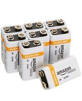 AmazonBasics 9 Volt 9V Everyday Alkaline Batteries (8-Pack) Amazon Basics NEW