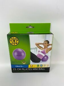 Gold's Gym 25 CM Pilates Mini Ball With DVD New