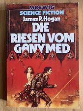 RIESEN 2 - Die RIESEN von Ganymed, JAMES P. HOGAN, Moewig Science Fiction