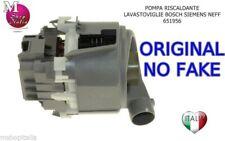 Pompa Riscaldante 651956 ORIGINALE lavastoviglie Bosch Siemens Neff 9000.877.349