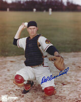 1957 BRAVES Del Crandall signed 8x10 photo AUTO Autographed Milwaukee