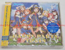 New Aqours HAPPY PARTY TRAIN Love Live Sunshine CD DVD Japan F/S LACM-14591 EMS