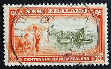 Timbre NOUVELLE-ZELANDE / Stamp NEW ZELAND - Yvert et Tellier n°254 obl (Cyn22)