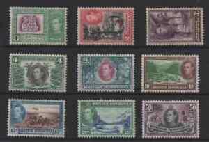 9 stamps from british honduras