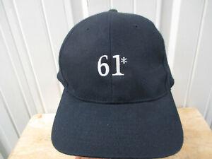 VINTAGE HBO  *61 NEW YORK YANKEES  STRAPBACK HAT CAP ROGER MARIS MANTLE 2001