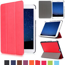 Smart Magnetic Leather Shockproof Stand Case Folio Slim Cover For Samsung Tablet