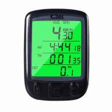 Waterproof Bicycle Speedometer Wired Cycle Bike Meter Computer Odometer LCD A
