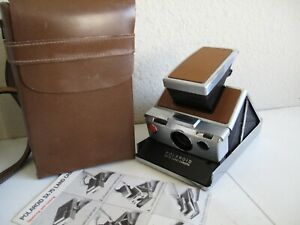 classic Polaroid SX-70 Folding Camera - Works and Looks Great (Inc Case)