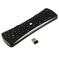 O21 2.4G Wireless drahtlos Maus Air Maus Luftbewegung + Mini Tastatur Keyboard