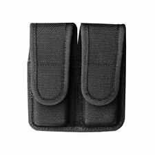 Bianchi Accumold 7302 Black Double Magazine Pouch (Size 4 Staggered Hook & Loop)