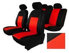 Universal Rouge eco-cuir Set Complet Housse siege voiture BMW E46, E34, E39