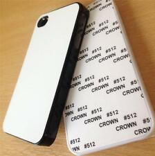 iPhone 4 or 4s BLANK SUBLIMATION PRINTING CASES black or white