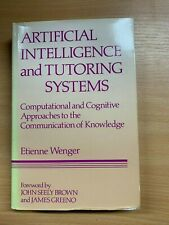 "1987 ""ARTIFICIAL INTELLIGENCE & TUTORING SYSTEMS"" ILLUSTRATED HARDBACK BOOK"