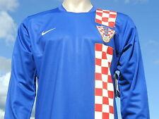 Bnwt RARA Croazia internazionale Home LS Retrò Player Issue COPPA DEL MONDO SHIRT XL