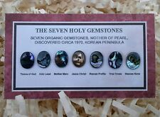 7 Holy Gemstones. Not A Hoax. God, Virgin Mary, Jesus, Etc. In Mother Of Pearl