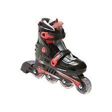 Rollers et patins rouge enfants