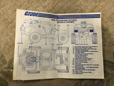 Pick and choose! GI Joe ARAH Authentic Blueprints 1982-1993