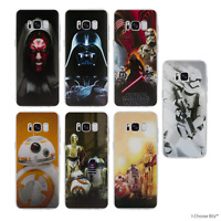 Star Wars Héros Coque/Etui/Case pour Samsung Galaxy S6/S7/Edge/S8/S9/Plus / Gel