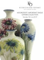 MOORCROFT IMPORTANT SINGLE OWNER COLLECTION AUCTION CATALOGUE