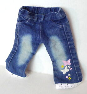 """Doll Clothing Blue Jeans for 18"""" doll fits American Girl"""