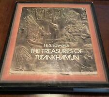 The Treasures of Tutankhamun book by I.E.S. Edwards 1973 Hardcover