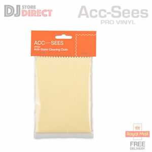 Acc-Sees Antistatic Vinyl Record Cleaning Cloth Lint Free Vinyl CD DVD