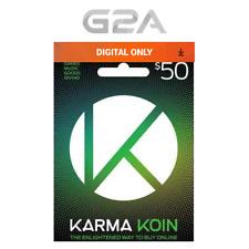 Karma Koin 50 USD Prepaid Card Digital Code 50 Dollars  50$ BUY ONLINE [US]
