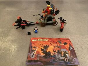 LEGO System Fright Knights Traitor Transport 6047 6099 In 1997 Used Retired 100%