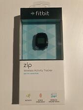 Fitbit Zip Black Wireless Activity Tracker Sealed New Black