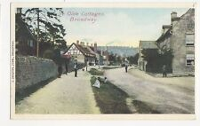 Ye Olde Cottages Broadway Vintage Postcard  218a
