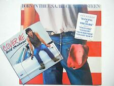 Bruce Springsteen ♫ Born in USA ♫ 1984 M-in Shrink mit Cover Me 45 qc-38653