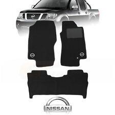 NISSAN NAVARA D40 ST-X Custom Made Floor Mats F+R STX OCT/2005 to FEB/2010 CHARC