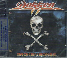 CD + DVD SET DOKKEN BROKEN BONES SEALED NEW 2012