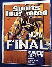 Dwyane Wade Signed Sports Illustrated Magazine Autographed Stray Mark