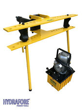 """Electro Hydraulic Pipe Tube Bender with Separable Hand Pump (1/2"""" - 4"""") W-4D"""