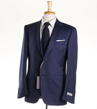 NWT $2095 CANALI 1934 Navy Blue Micro Stripe Wool Suit 38 R (Eu 48) Classic-Fit