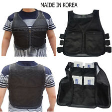 REX Cooling Vest 8 ice pack Outdoor Jacket Fashion ice vest sports working black