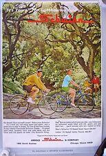 1970's Schwinn 10 Speed Super Sport Bicycle Advertisement Poster
