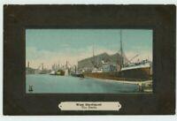 The Docks West Hartlepool Postcard, B969