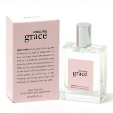 PHILOSOPHY AMAZING GRACE for Women * 2/2.0 oz (60 ml) EDT Spray * NEW & SEALED