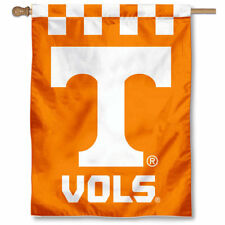 Tennessee Volunteers Checkerboard Two Sided House Flag
