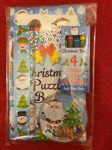 Pre Filled Christmas Party Bag Stocking Filler Activity Pack Xmas Eve Box 6 Toys