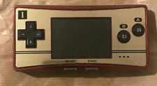 Nintendo Gameboy Micro Game 20th Anniversary Edition console OXY-001 Happy Mario